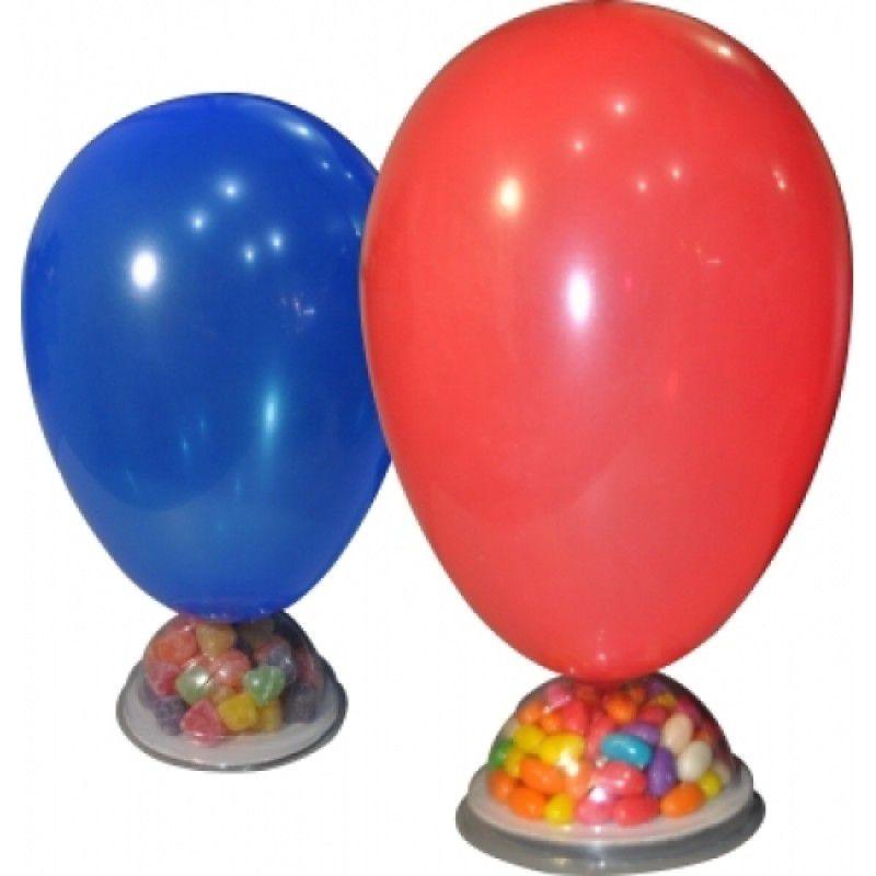 Base Enfeite Para Mesa - Suporte Para Balões - c/ 10 unid
