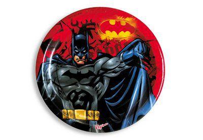 Prato Descartável Batman c/ 8 unid.