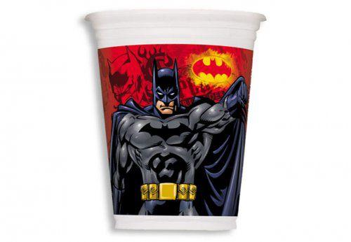Copo Descartável Batman c/ 8 unid.