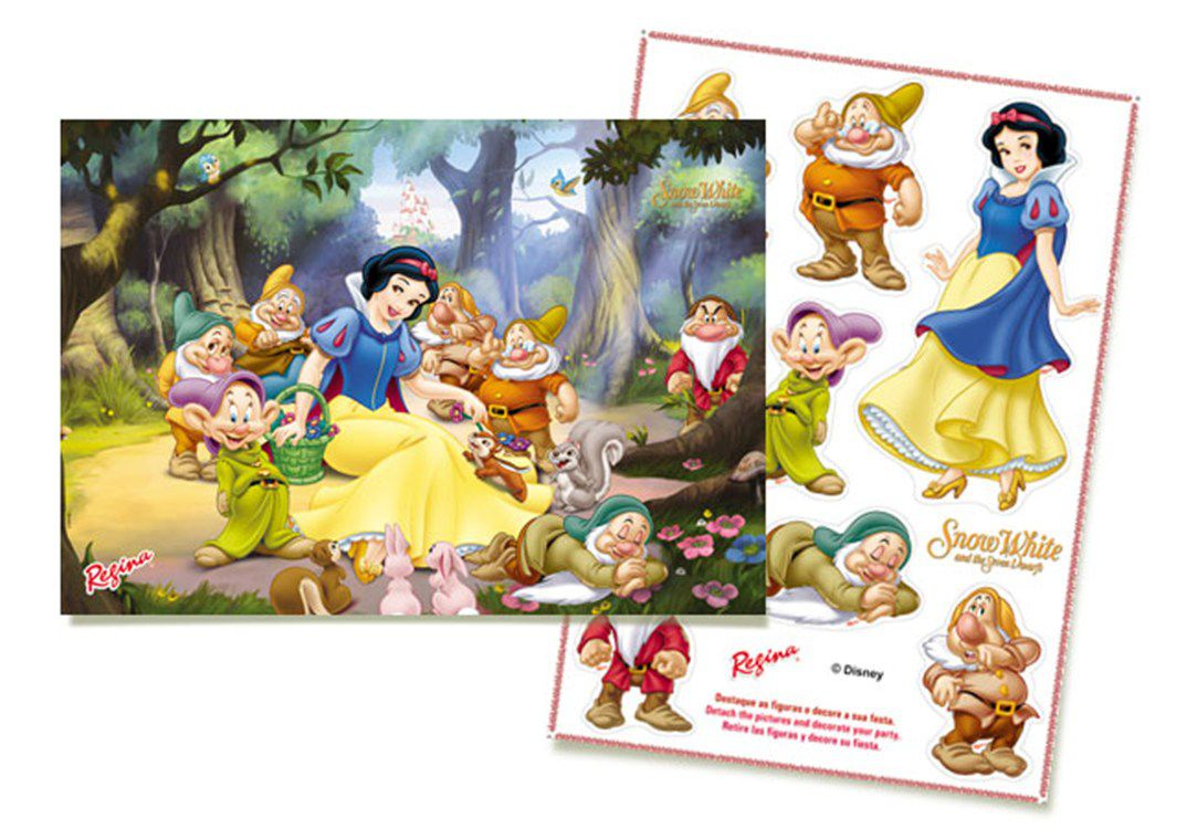 Kit Decorativo Branca de Neve