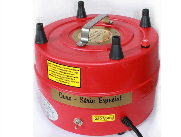 Compressor de Ar p/ Inflar Balões 4 Bicos - Bonus Infladores
