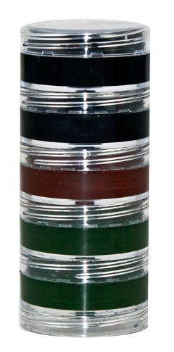 Tinta Cremosa Camuflagem Exército Kit 5 cores.