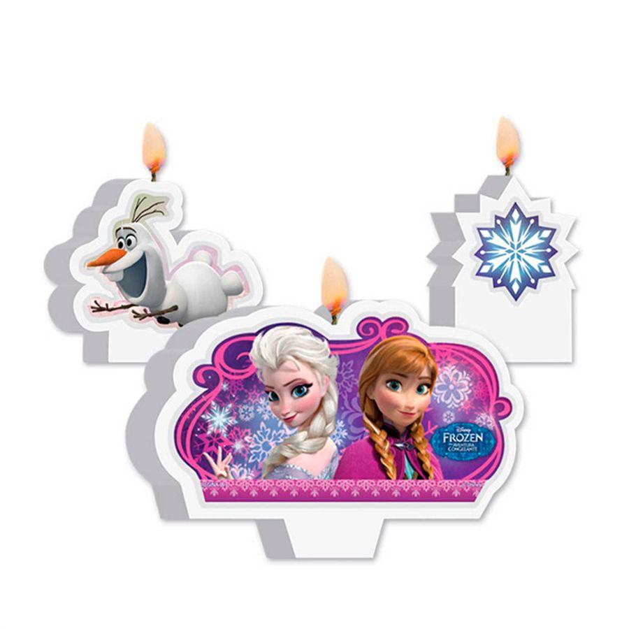 Vela de Aniversário Frozen