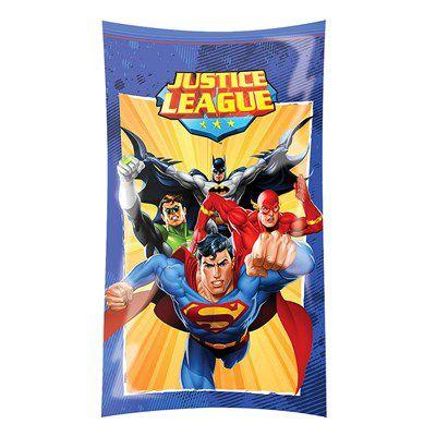 Sacola Plástica Liga da Justiça c/ 8 unid.