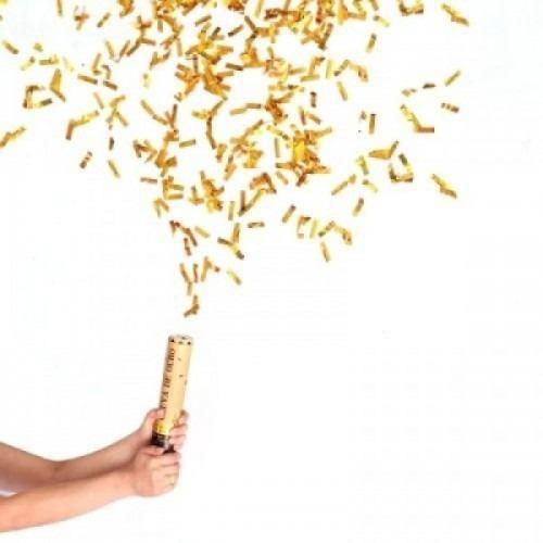 """Lança Confete Chuva """"Dourado"""""""