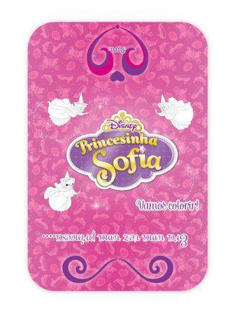 Convite Princesinha Sofia