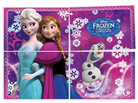 Kit 4 Lâminas Frozen