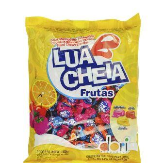 Lua Cheia Frutas 600gr