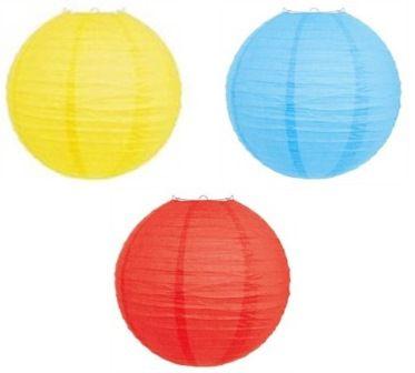 Lanterna de Papel - cores