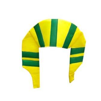 Chapéu Faraó Verde e Amarelo - Brasil