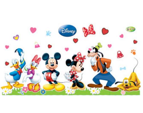Kit Painel Impresso Disney Standard c/ 37 peças