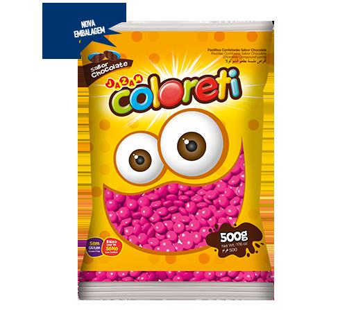 Confete Coloreti - 500g