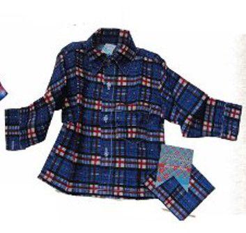 Camisa Juvenil em Flanela