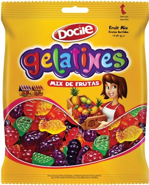 BALA DE GELATINA GELATINES MIX DE FRUTAS
