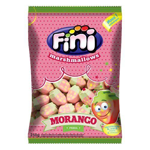 Marshmallow Fini Morango - 250g