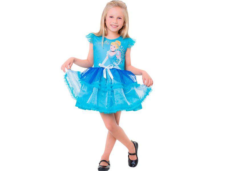 Fantasia Princesa Cinderela