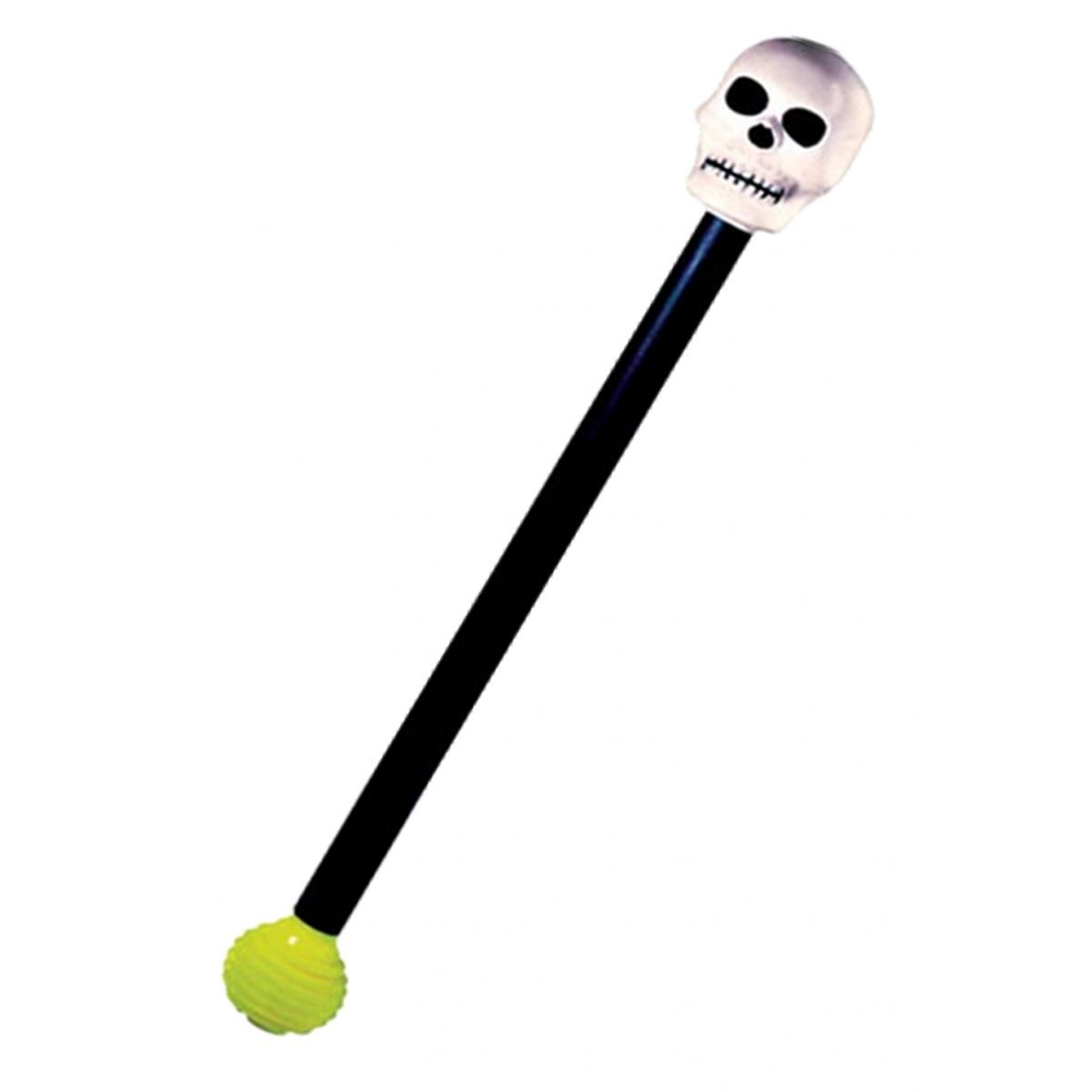 Bengala Esqueleto c/ Apito - Skeleton