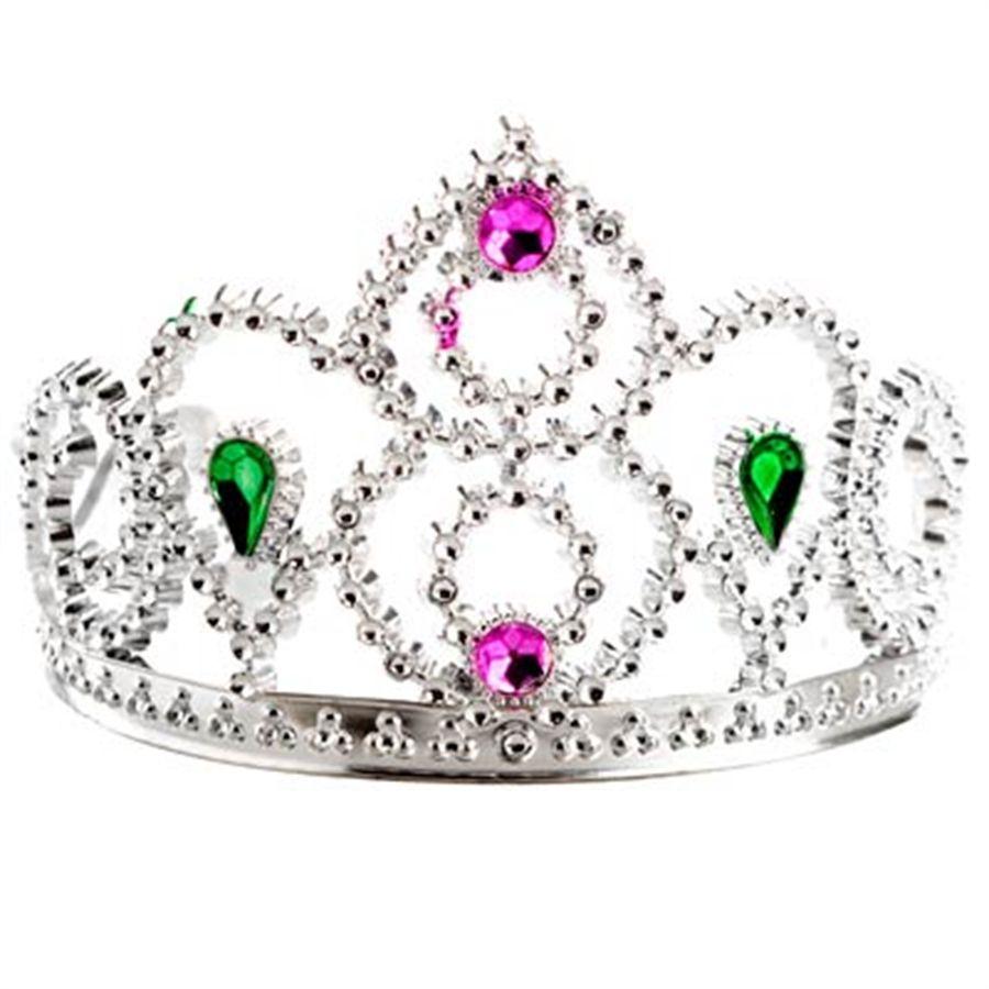 Coroa de Princesa de Plástico