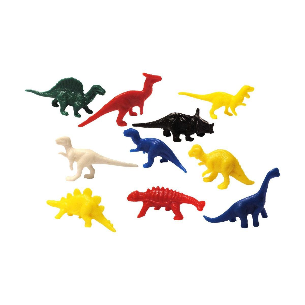 Mini Brinquedo Animais Pré Históricos Dinossauro - 20 Unidades