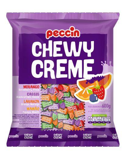 Bala Mastigável Chewy Creme 600g
