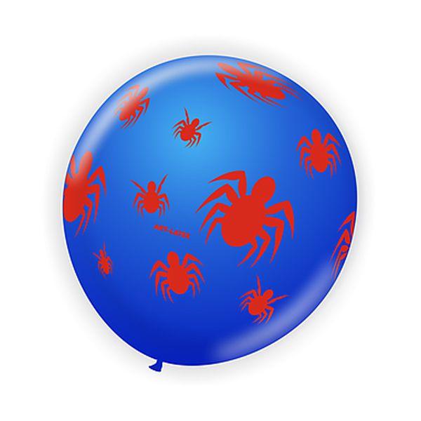Balão Aranha Azul/ Vermelho