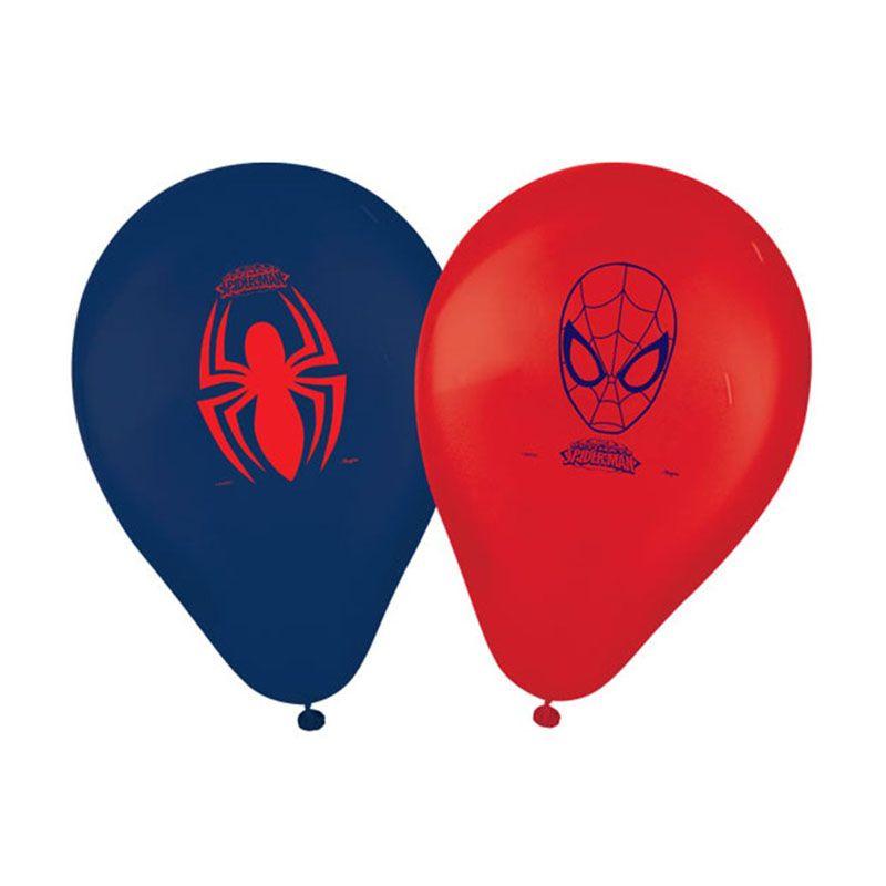 Balão Homem Aranha - 25 unidades