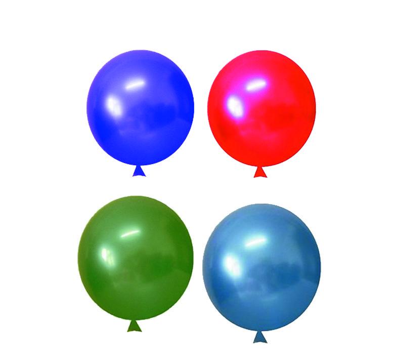 Balão Translucido Cristal Redondo