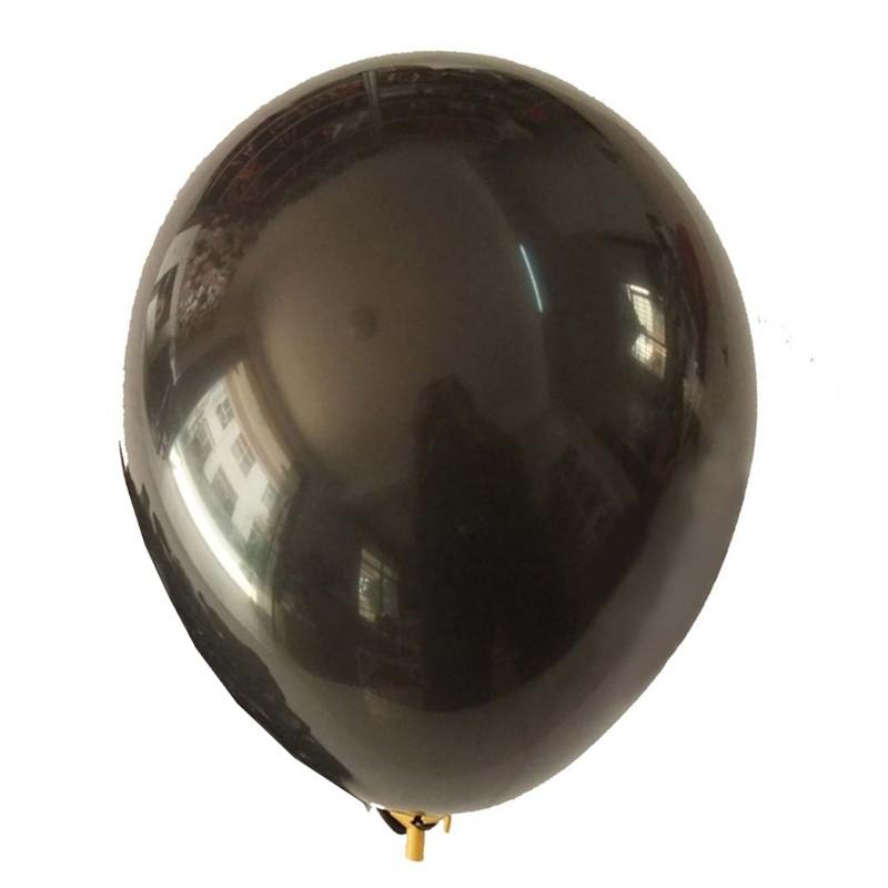 Balão Cromado Alumínio Onix - 9 Polegadas - 25 unidades