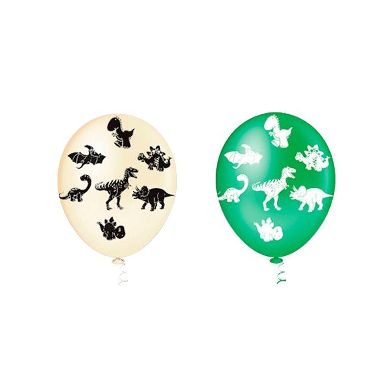 Balão de Dinossauro sortido - 25 unidades