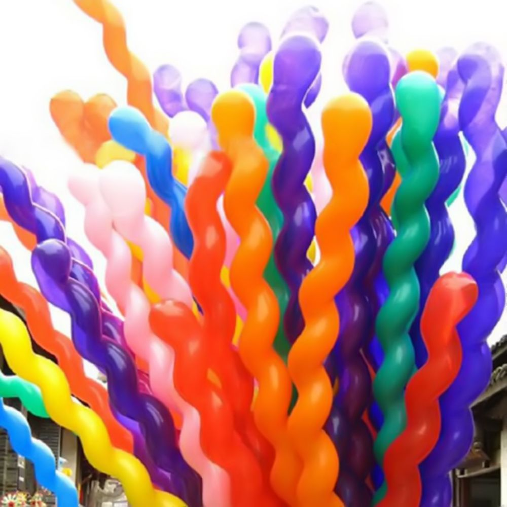Balão Espiral Parafuso - 25 unidades