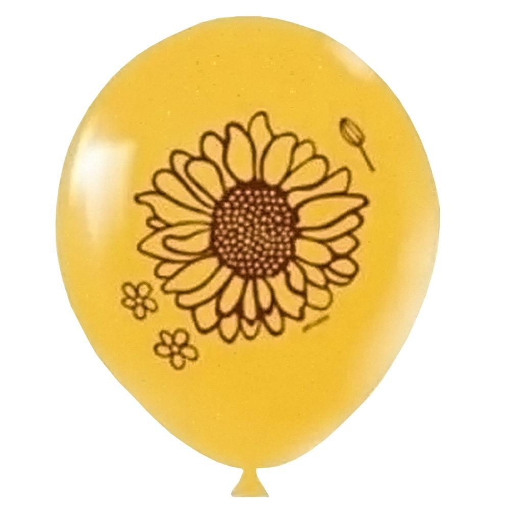 Balão Girassol - 11 Polegadas - 25 Unidades
