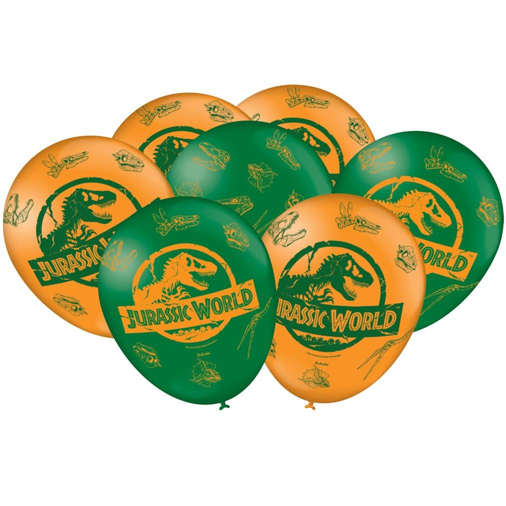 Balão Jurassic World - 9 Polegadas - 25 unidades