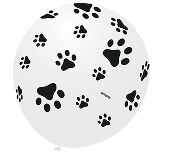 Balão Pegada de Cachorro