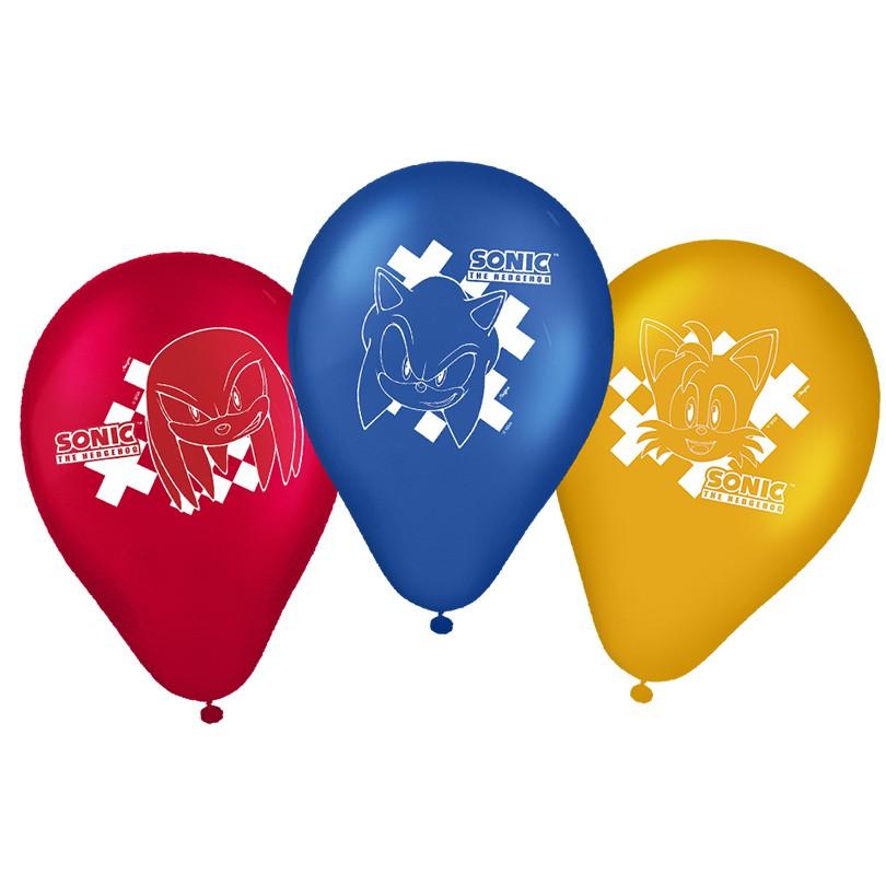Balão Sonic - 25 Unidades