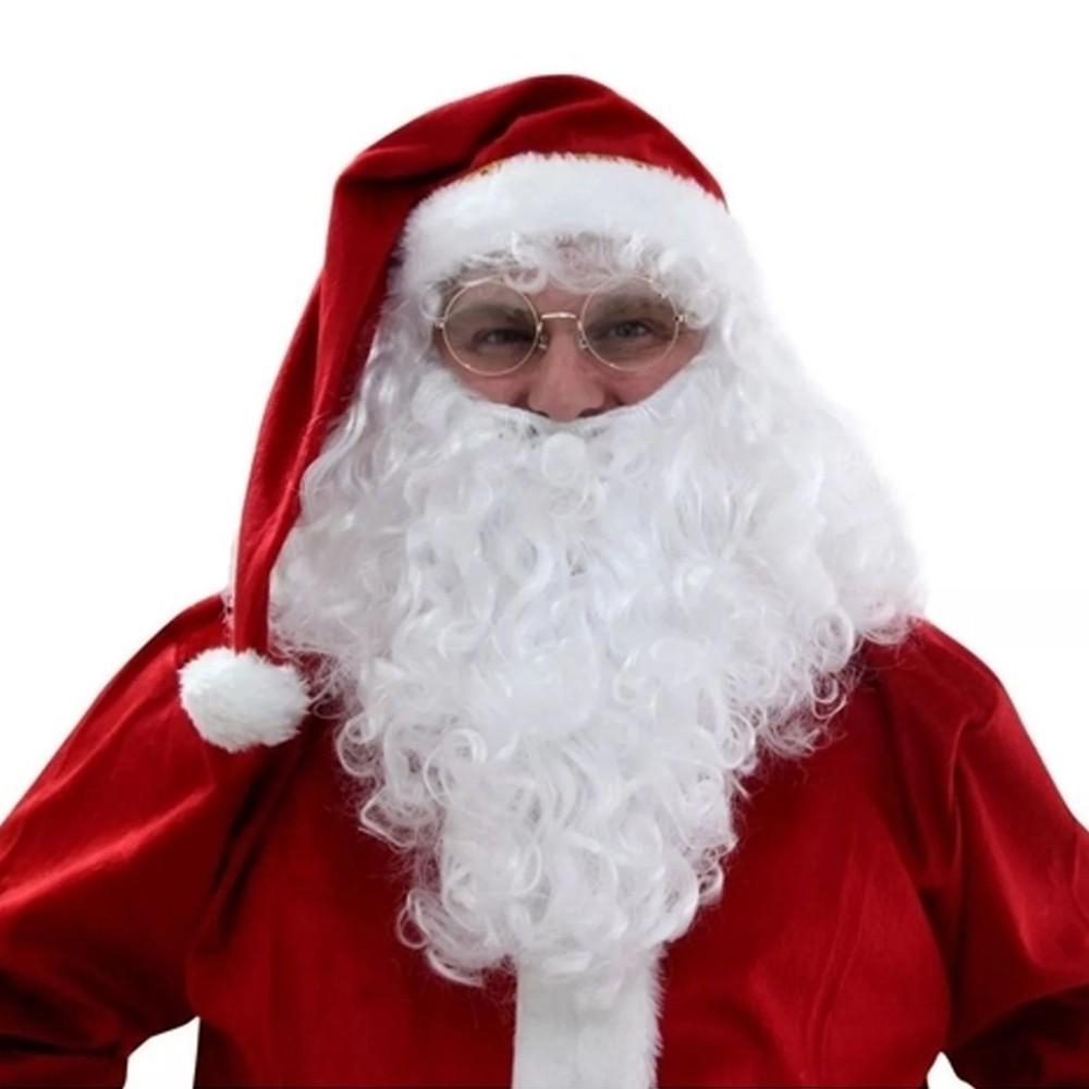 Barba de Papai Noel Longa