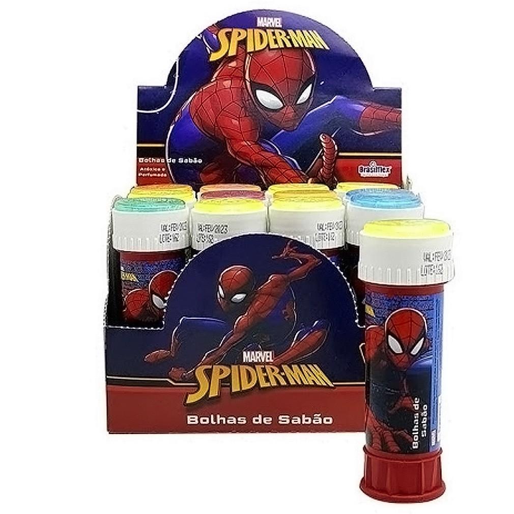 Bolha de Sabão Homem Aranha - 12 unidades