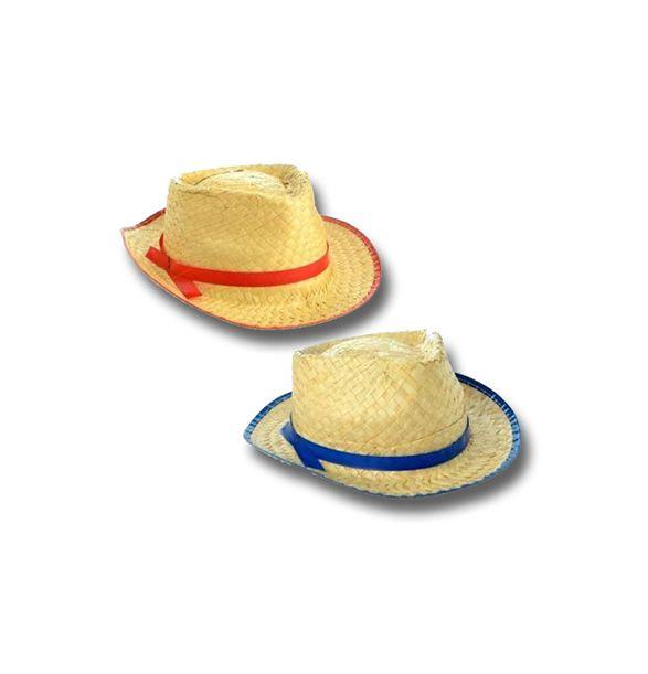 Chapéu Caipira de Palha Malandrinho