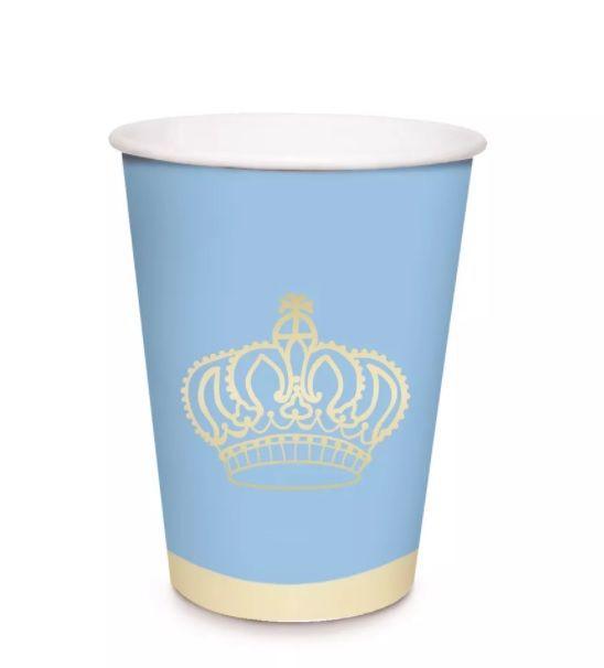 Copo de Papel Reino Menino - 240 ml