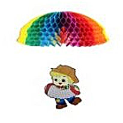 Enfeite Festa Junina Menino com Paraquedas