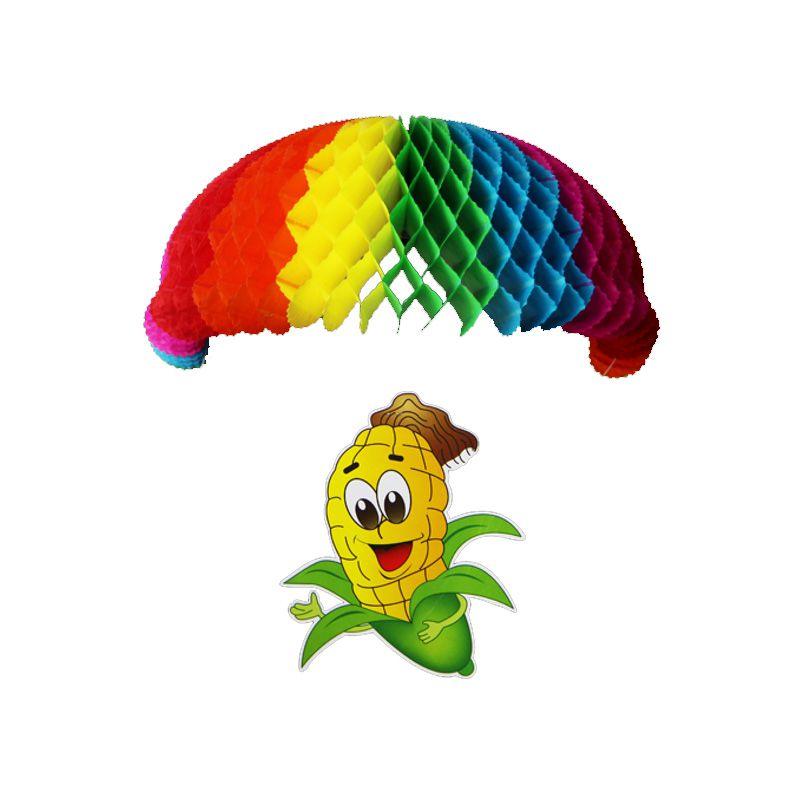 Enfeite Junino Milho com Paraquedas