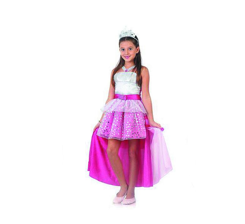 Fantasia Barbie Rock In Royals Luxo G - Sulamericana