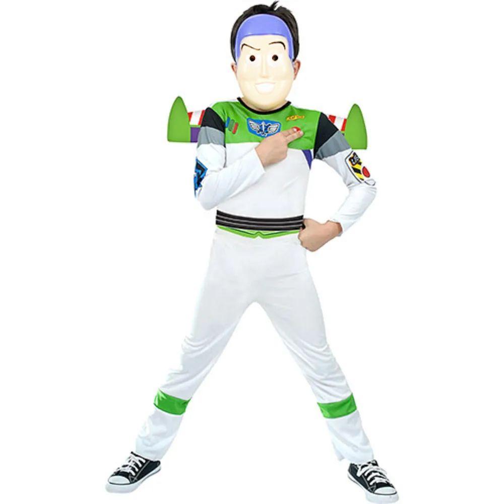 Fantasia Buzz Longa Infantil - Toy Story