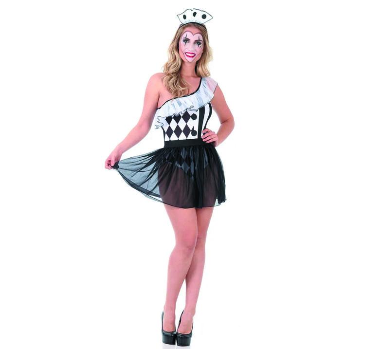 Fantasia Colombina Pop Adulto - Heat Girls