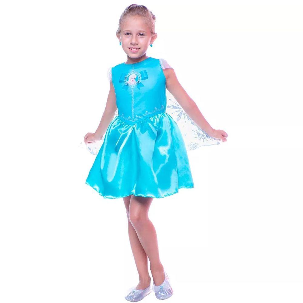 Fantasia Frozen - Princesa Elsa Pop