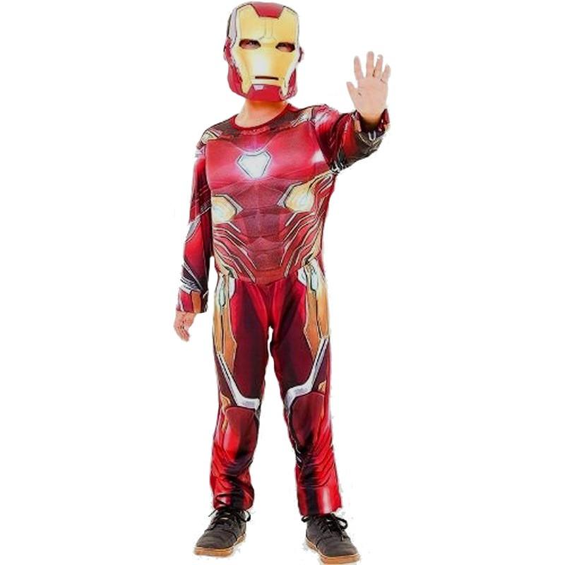 Fantasia Homem de Ferro Guerra Infinita - Longa - Luxo - Infantil