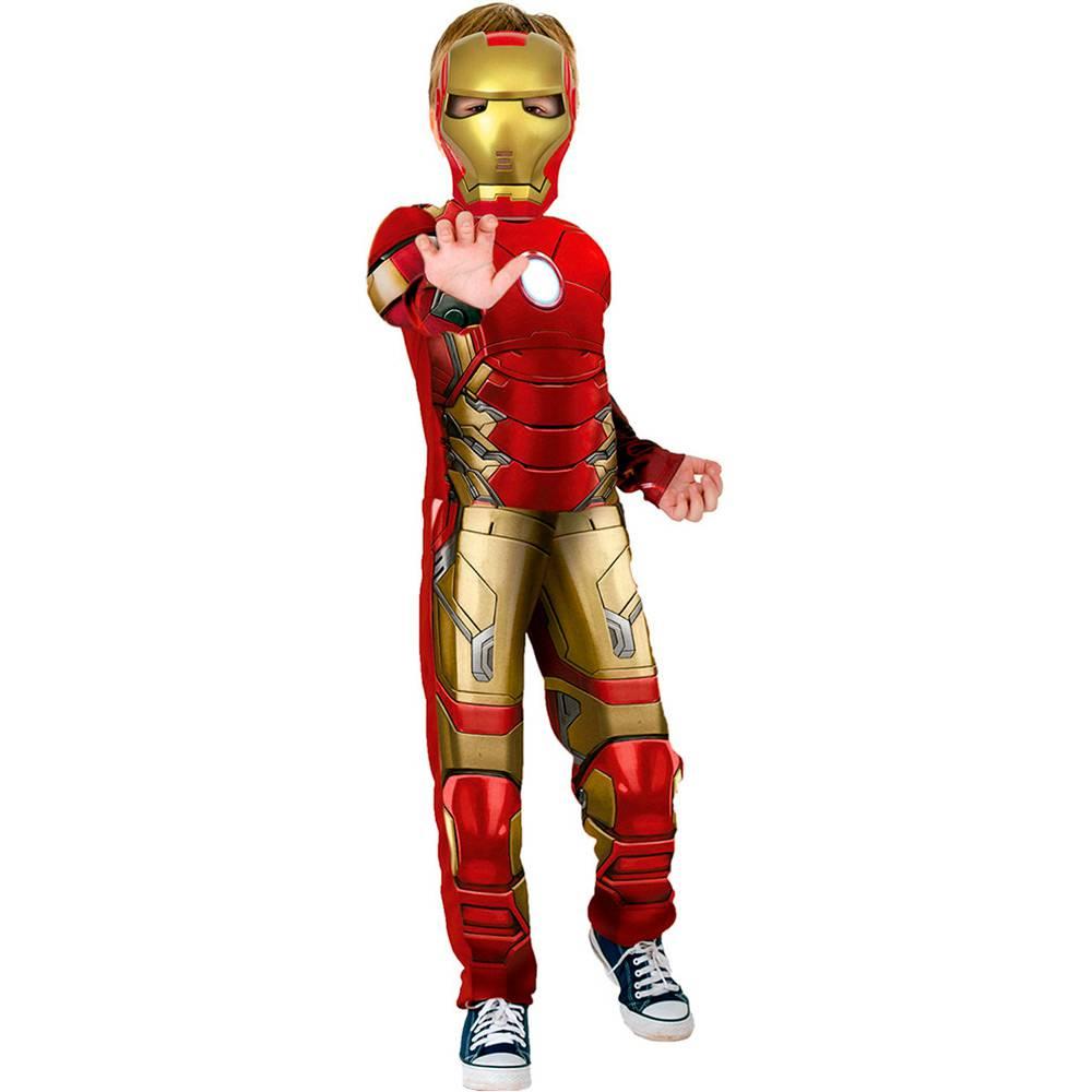 Fantasia Homem de Ferro Luxo
