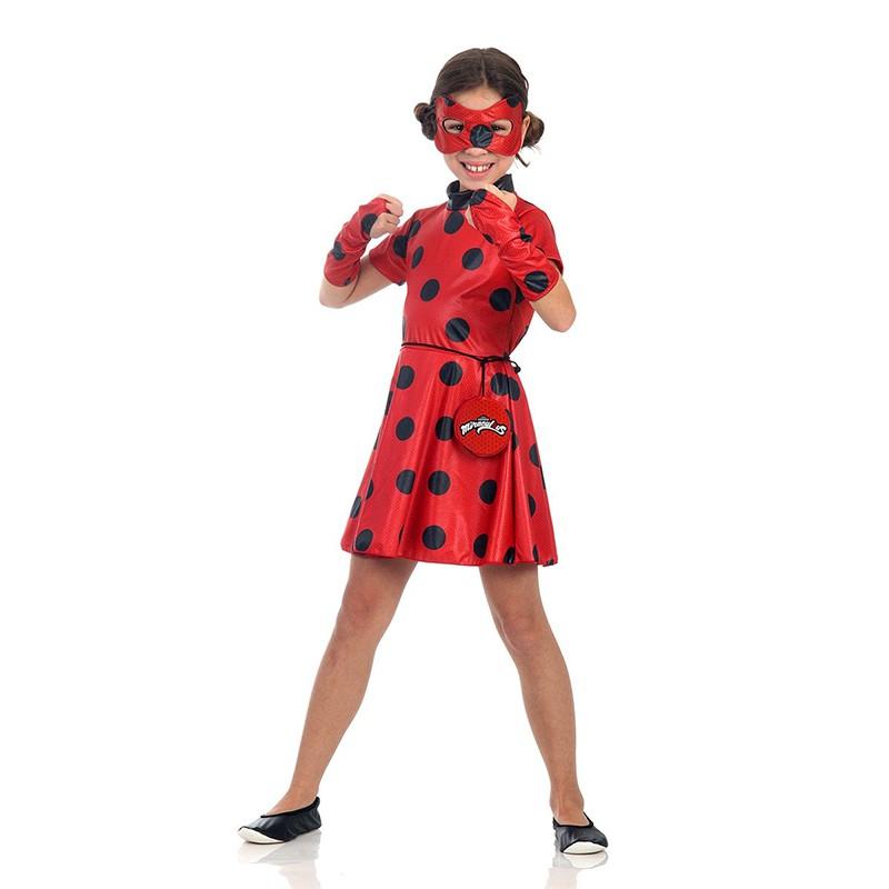 Fantasia LadyBug - Infantil