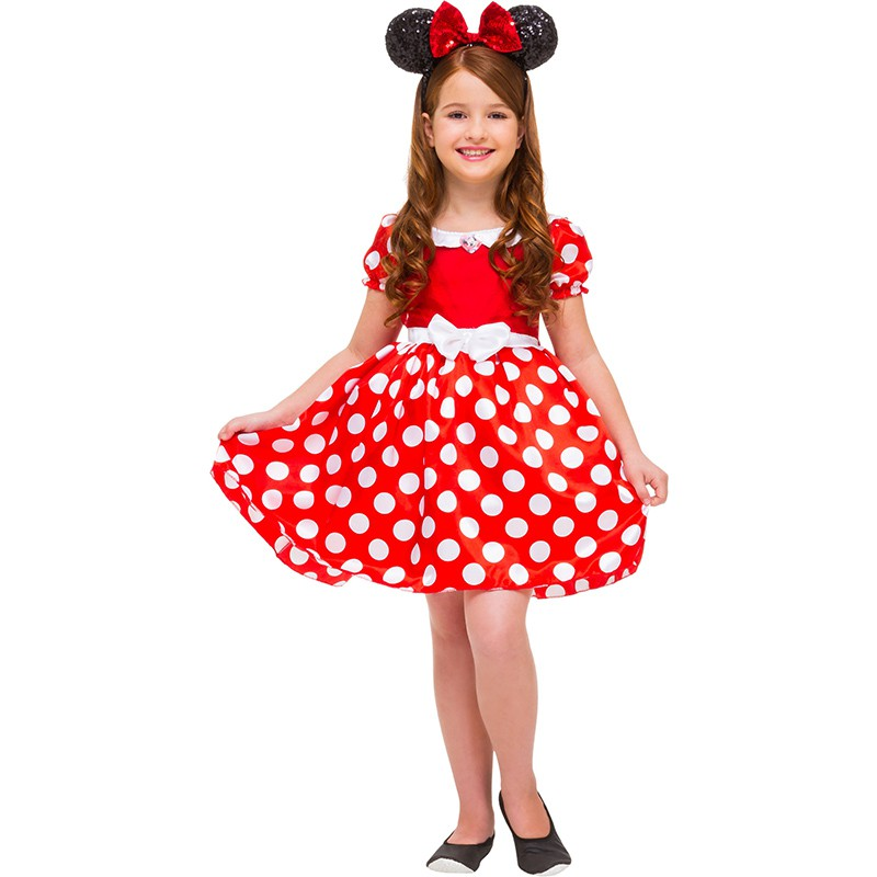 Fantasia Minnie Mouse - Luxo - Infantil
