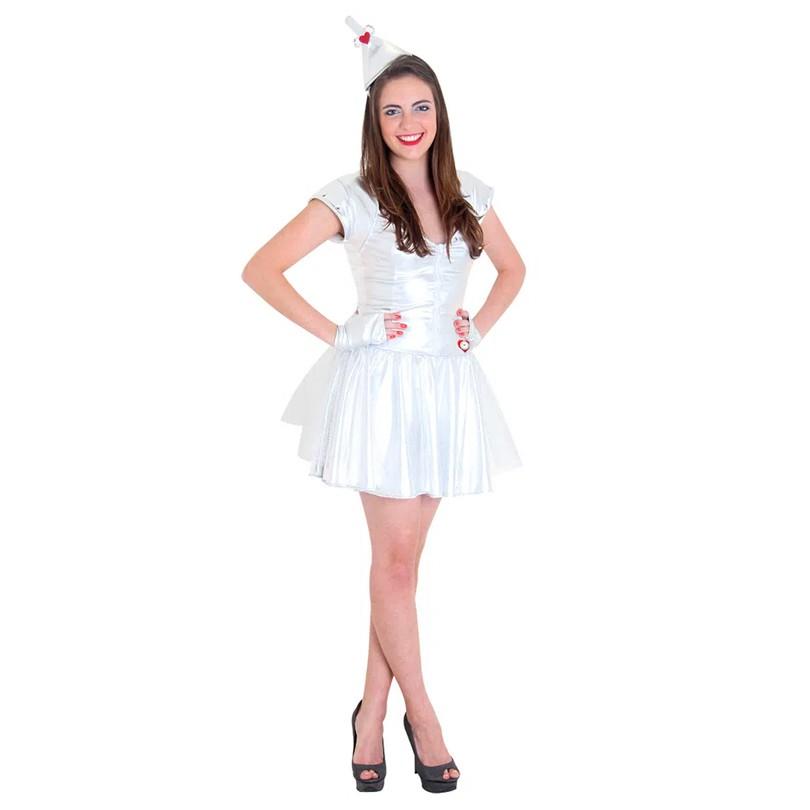Fantasia Mulher de Lata - Mágico de Oz - Teen