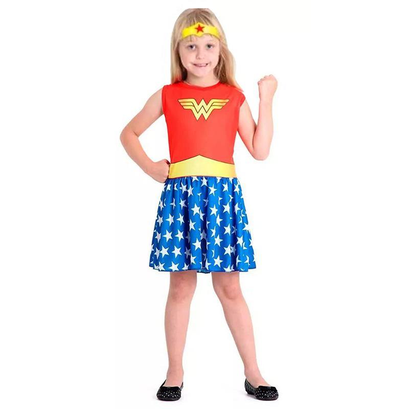 Fantasia Mulher Maravilha - Super Pop - Infantil